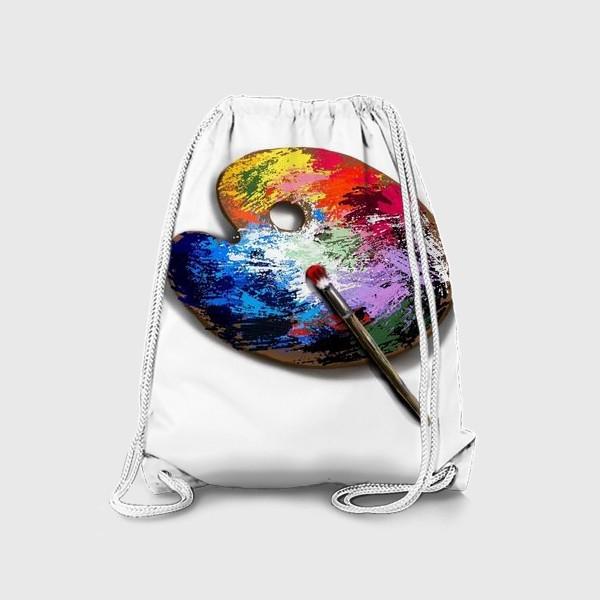 Рюкзак «Палитра с красками»