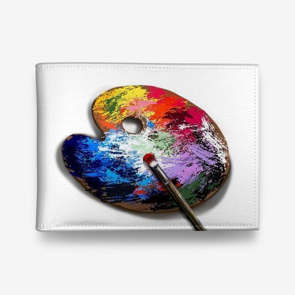 Кошелек «Палитра с красками»