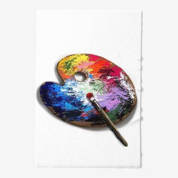 Полотенце «Палитра с красками»