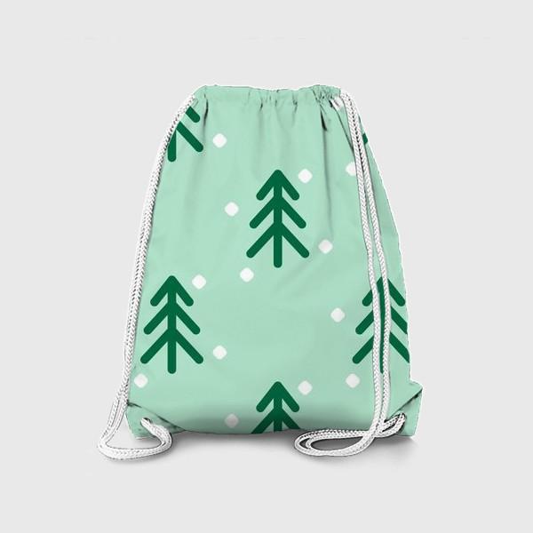 Рюкзак «Ёлочки паттерн»