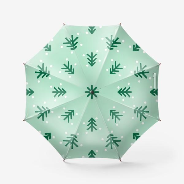 Зонт «Ёлочки паттерн»