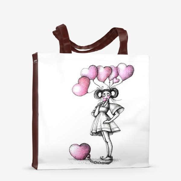 Сумка-шоппер «Сладкая любовь»