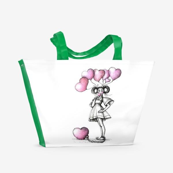 Пляжная сумка «Сладкая любовь»