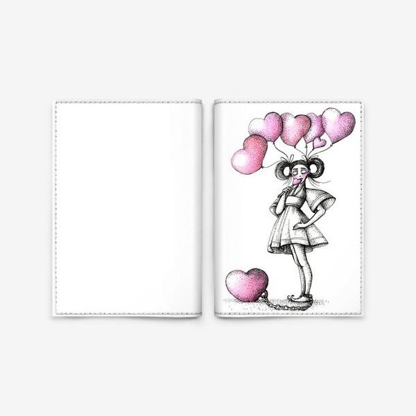 Обложка для паспорта «Сладкая любовь»