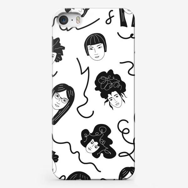 Чехол iPhone «Девушки бывают разные»