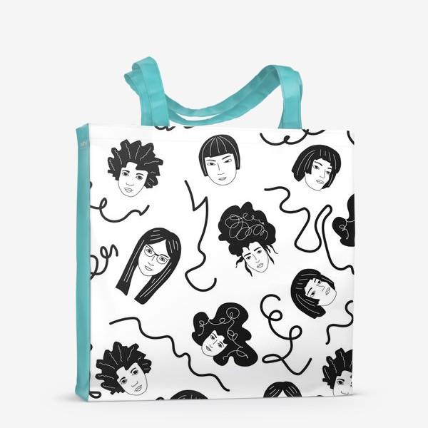 Сумка-шоппер «Девушки бывают разные»