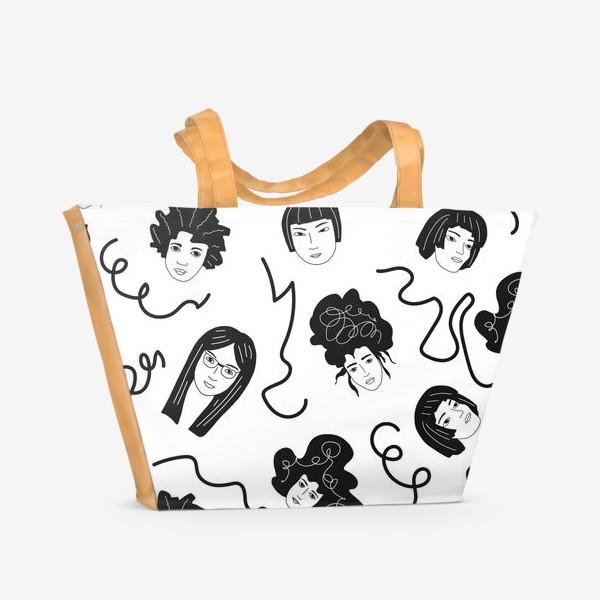 Пляжная сумка «Девушки бывают разные»