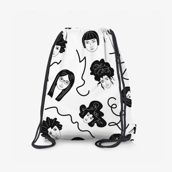 Рюкзак «Девушки бывают разные»