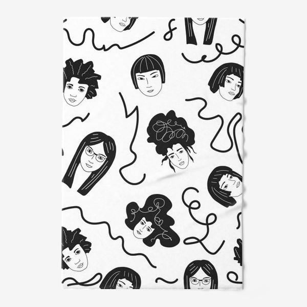 Полотенце «Девушки бывают разные»