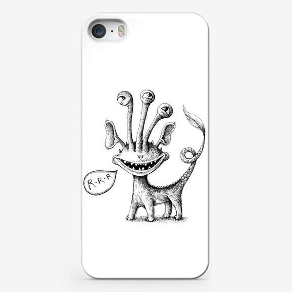 Чехол iPhone «Рычащий монстрик»