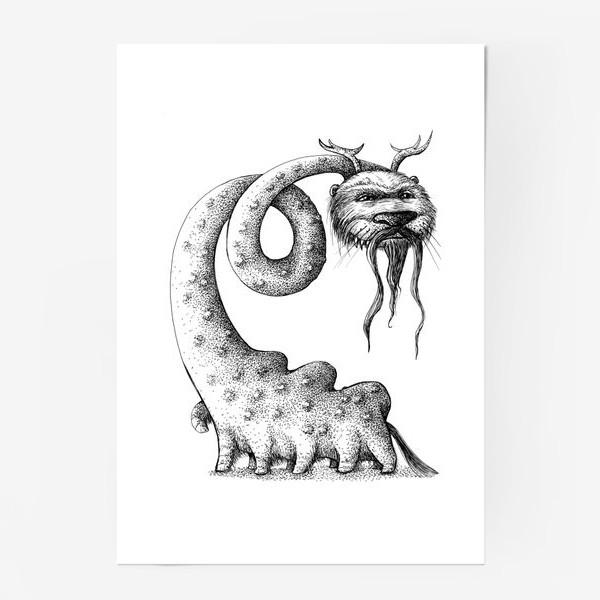 Постер «Монстрозверь»