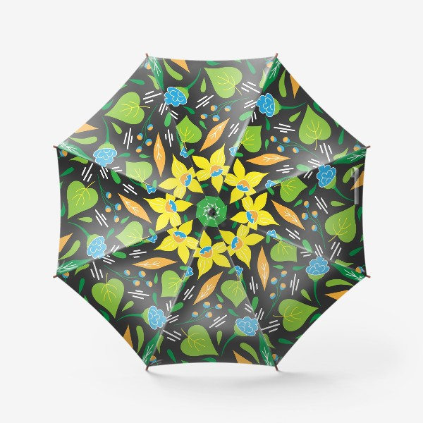 Зонт «Летняя цветочная коллекция. Нарциссы - 1»