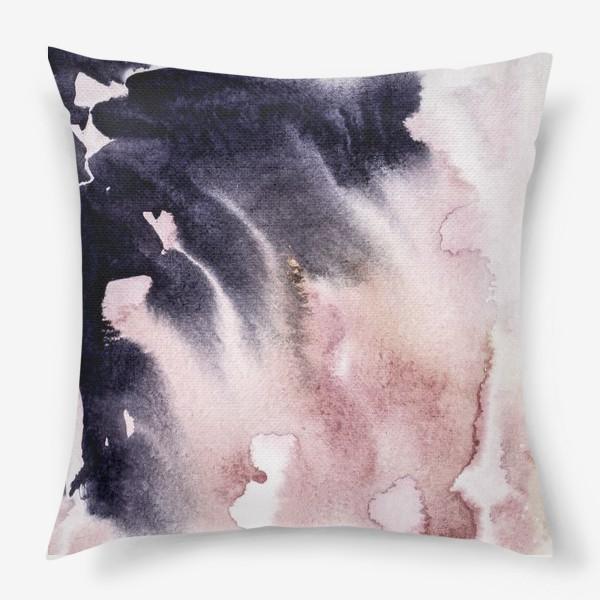 Подушка «Космическая акварель»