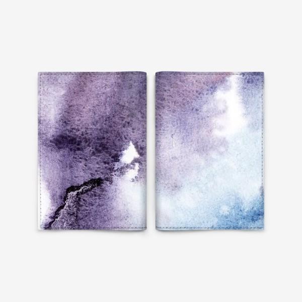Обложка для паспорта «Морская волна»