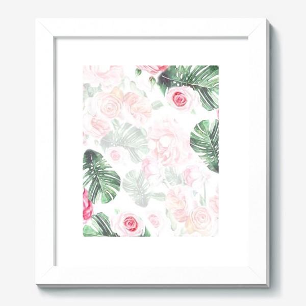 Картина «Цветочный принт»