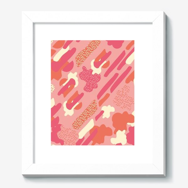 Картина «абстрактный фон тёплый камуфляж хаки»