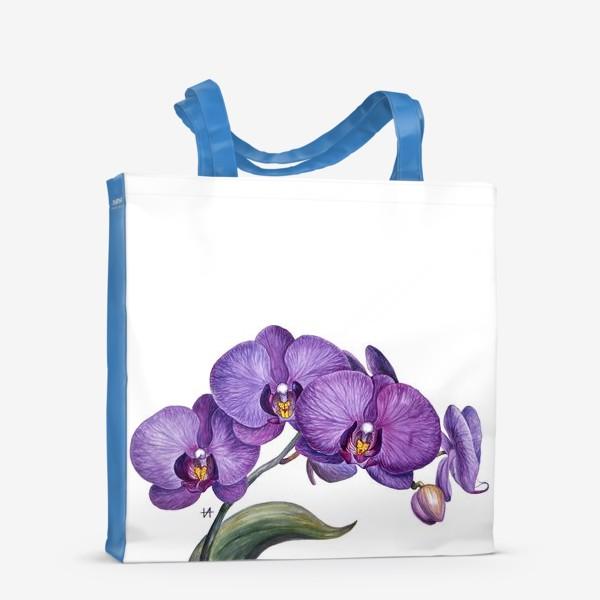 Сумка-шоппер «Ветка орхидеи»