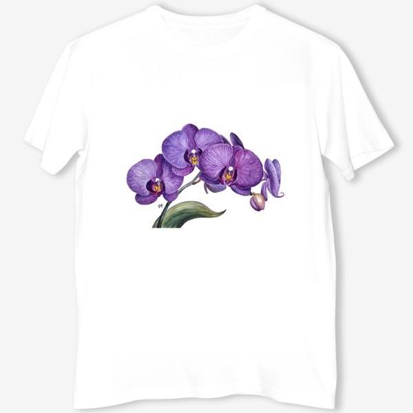 Футболка «Ветка орхидеи»