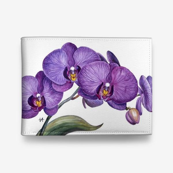 Кошелек «Ветка орхидеи»