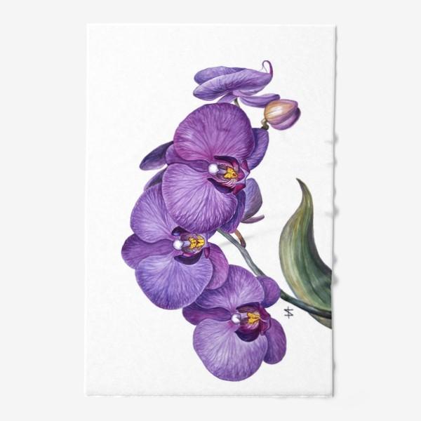 Полотенце «Ветка орхидеи»