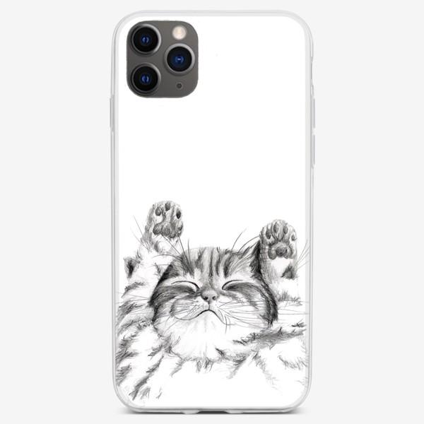 Чехол iPhone «котенок спит»