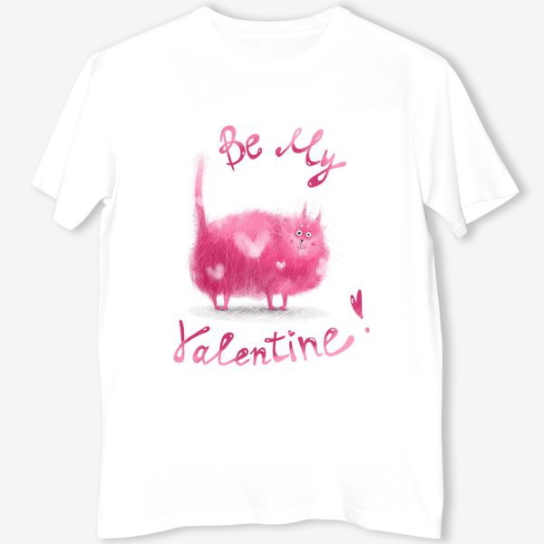 Футболка «Розовый кот»