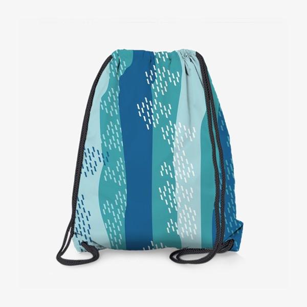 Рюкзак «абстрактный фон полосы и штрихи»