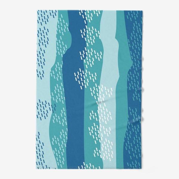 Полотенце «абстрактный фон полосы и штрихи»