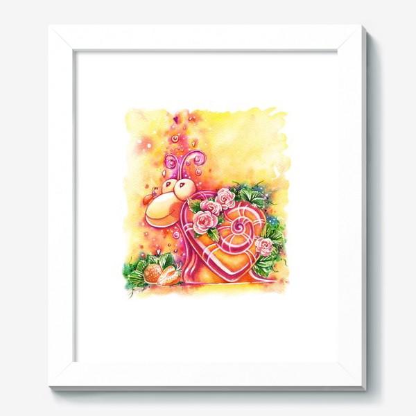 Картина «Улитка на день святого Валентина»
