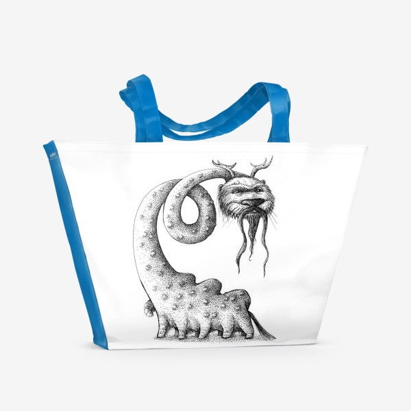 Пляжная сумка «Монстрозверь»