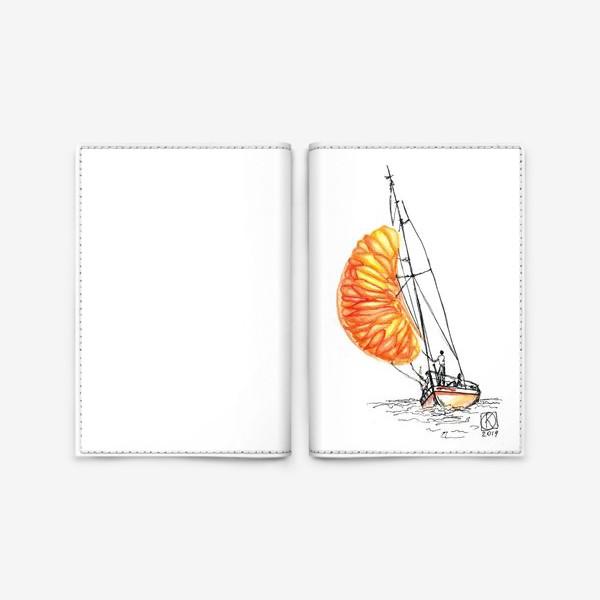 Обложка для паспорта «Попутного ветра»