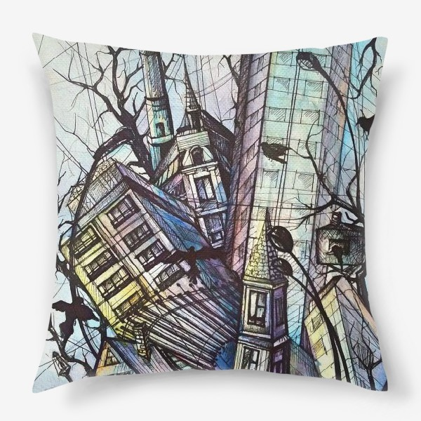 Подушка «Ритмы города»