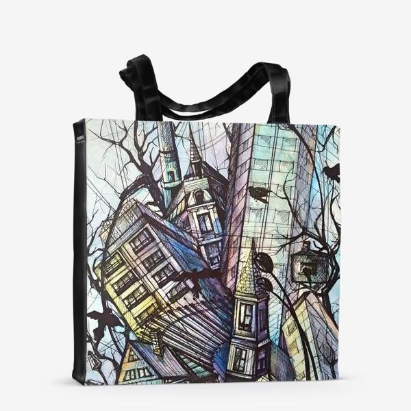 Сумка-шоппер «Ритмы города»
