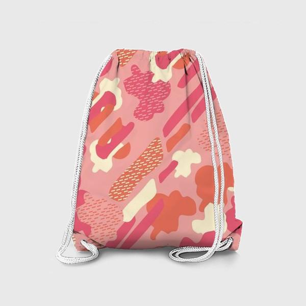 Рюкзак «абстрактный фон тёплый камуфляж хаки»