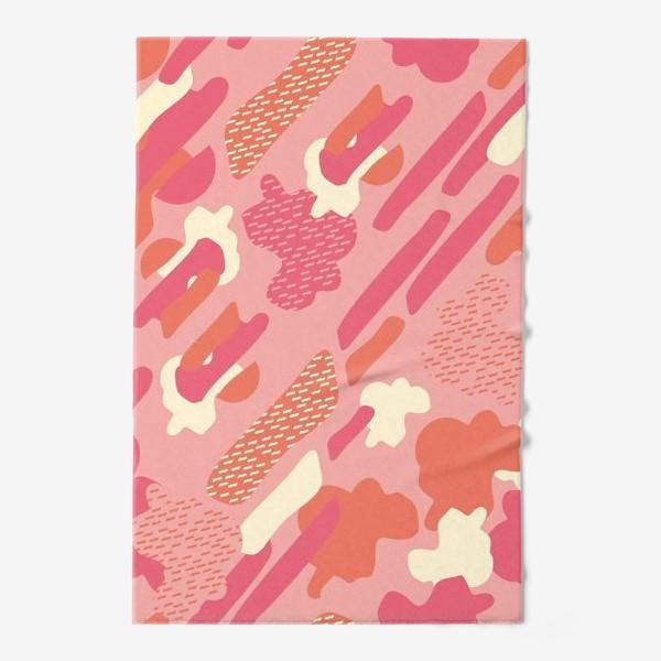 Полотенце «абстрактный фон тёплый камуфляж хаки»
