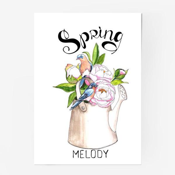 Постер «Весенняя мелодия»