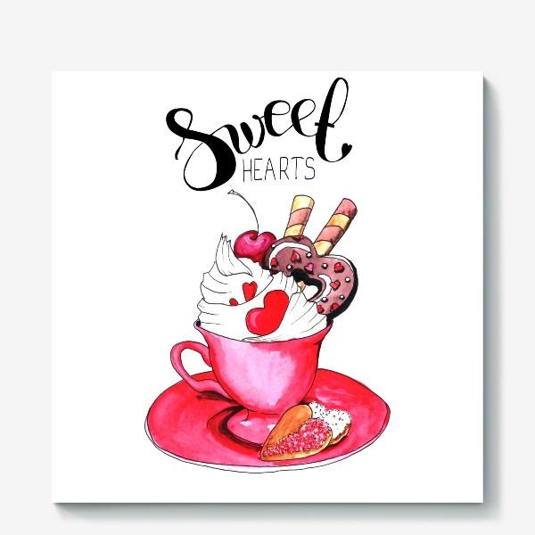 Холст «Sweethearts»