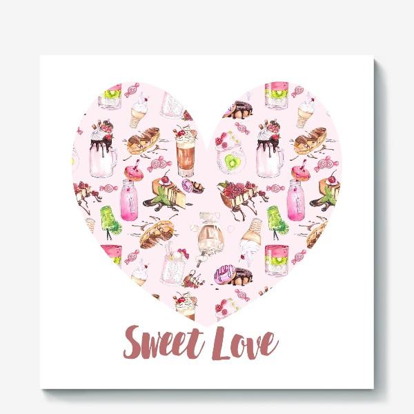 Холст «Сладкая любовь»