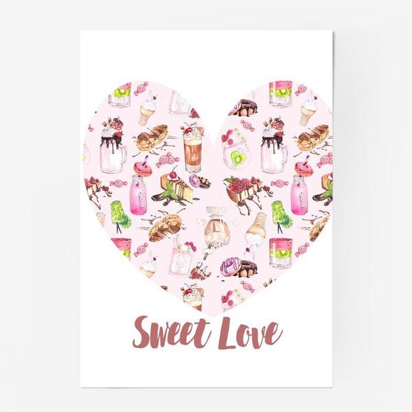 Постер «Сладкая любовь»