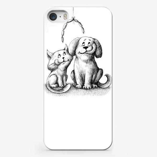 Чехол iPhone «Друзяки»