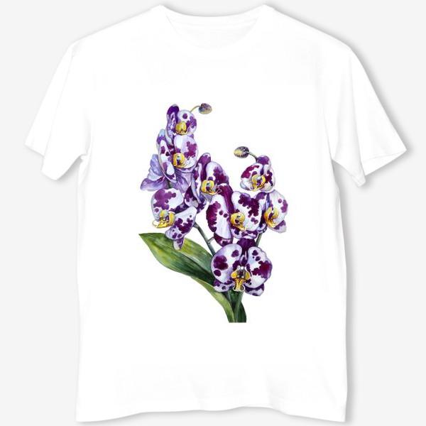Футболка «Пятнистая орхидея»