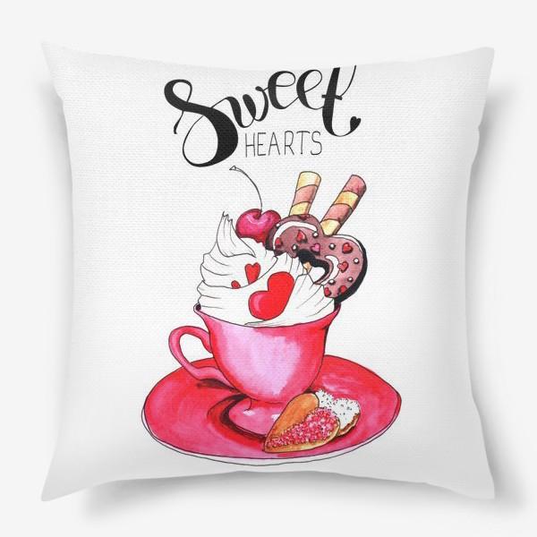 Подушка «Sweethearts»