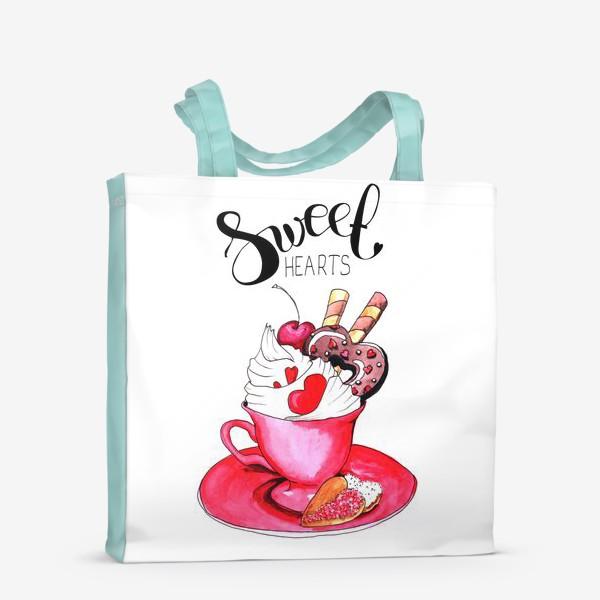 Сумка-шоппер «Sweethearts»