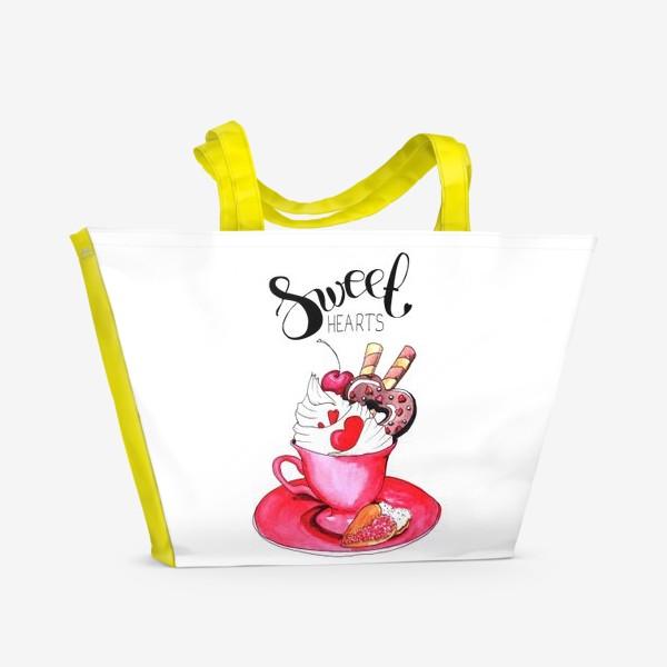 Пляжная сумка «Sweethearts»
