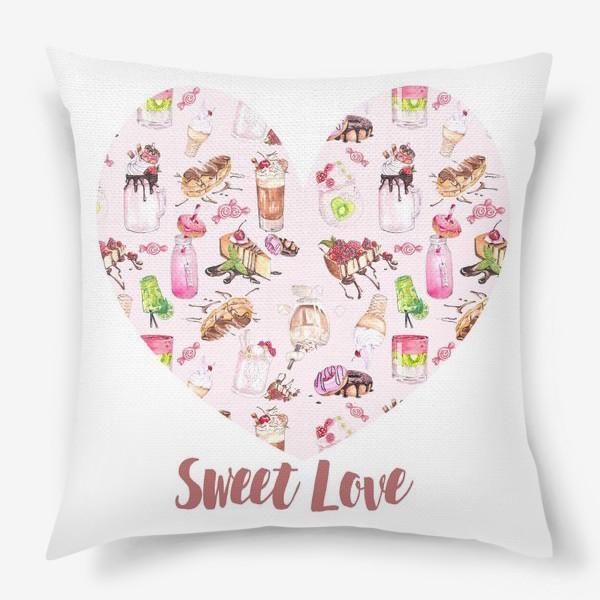 Подушка «Сладкая любовь»