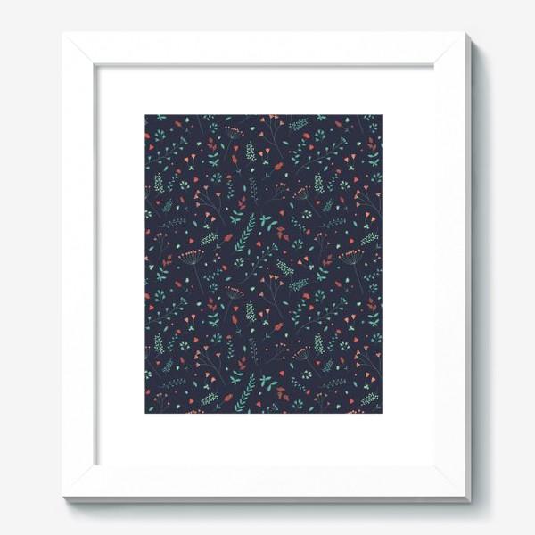 Картина «Травы и цветы»