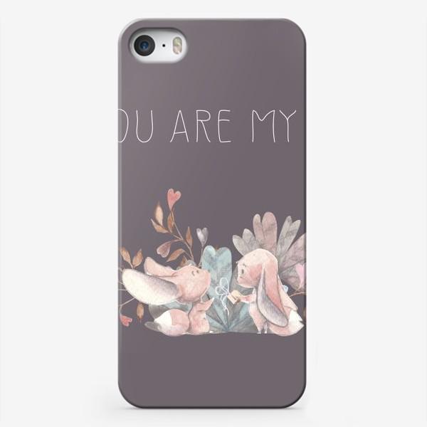 Чехол iPhone «Влюбленная пара you are my love »