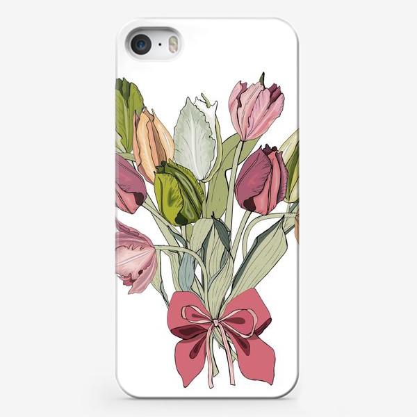 Чехол iPhone «букет для любимой»