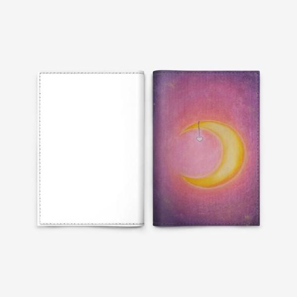 Обложка для паспорта «Луна. Женская природа. Пастель»