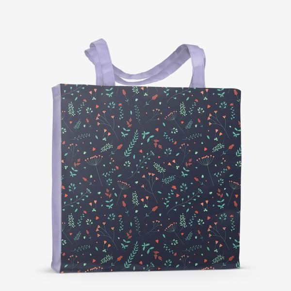 Сумка-шоппер «Травы и цветы»